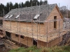 Slating and Larch Cladding Complete