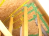 All Joints in Timber Structure Sealled with Air Tight Tape